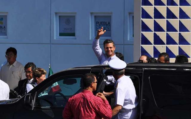 Crónica desde afuera: La visita de Peña Nieto a Acatlán